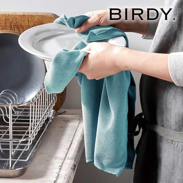 BIRDY. Supply キッチンタオル ターコイズブルー Mサイズ BY200TM