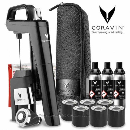 CORAVIN コラヴァン モデル6 ピアノブラック 【メーカー保証+WAC保証=3年保証】 CRV1017