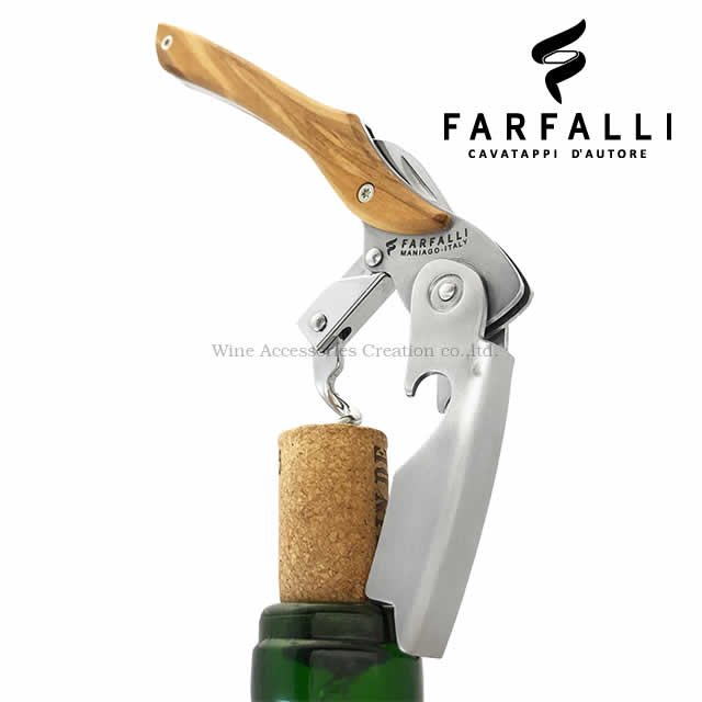 Farfalli VAJA ヴァハ ダブルピボット ソムリエナイフ オリーブ SC107OL