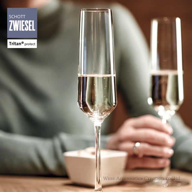 ショット・ツヴィーゼル ピュア フルート シャンパン EP 2脚セット【正規品】 GTU941K
