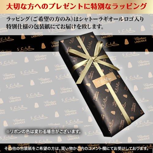 シャトーラギオール ジェラール・バッセ モデル 【正規3年保証付】アンチ・オックス TEX092BK(B) プレゼント SS600GB