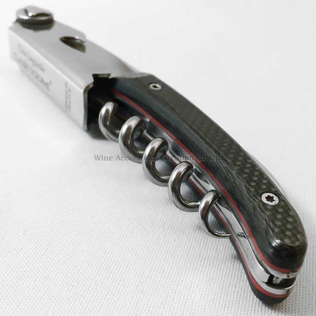 クロ ラギオール  ハンドメイド ソムリエナイフ  カーボン 【正規1年保証付】 SD126FB