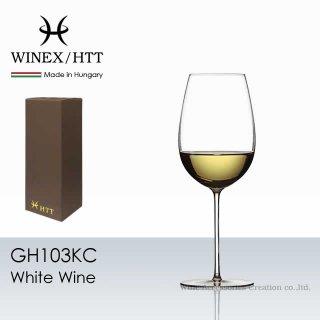 WINEX/HTT ホワイトワイン ワイングラス 1脚【正規品】 GH103KC