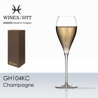 WINEX/HTT シャンパーニュ グラス 1脚【正規品】 GH104KC