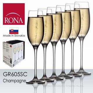 ロナ エディション シャンパーニュ グラス 6脚セット【正規品】 GR605SCx6