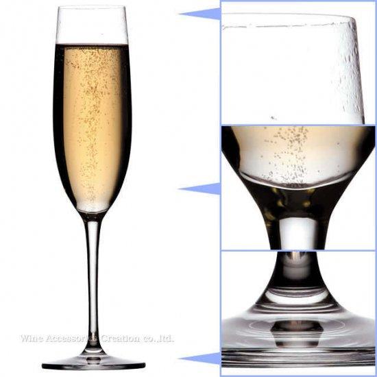 東洋佐々木 ファインクリスタル イオンストロング パローネ シャンパン 1脚【正規品】 RN-10254CS
