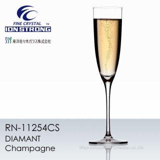 東洋佐々木 ファインクリスタル イオンストロング ディアマン シャンパン 1脚【正規品】 RN-11254CS
