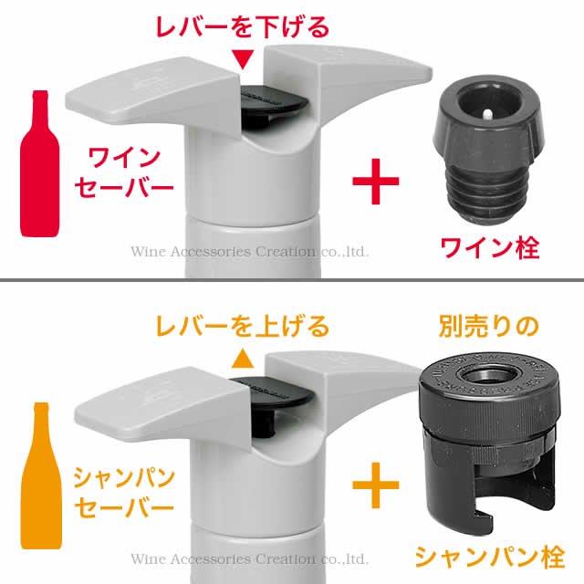 SWISSMAR ワインセーバー ブラック EE517BK