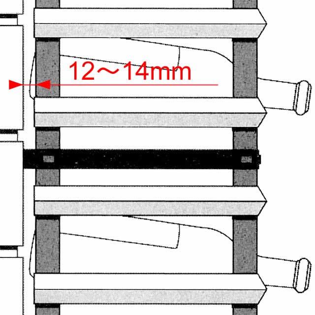 ボルデックス アタチェックス 倒壊防止パーツ 2個パック RB004OP
