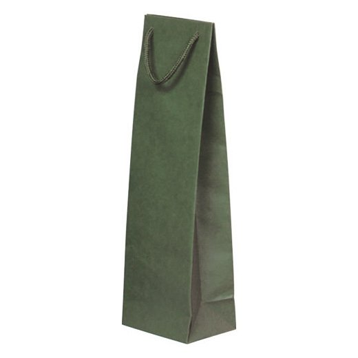ペーパーボトルバッグ【グリーン】10枚セット YW003GRx10