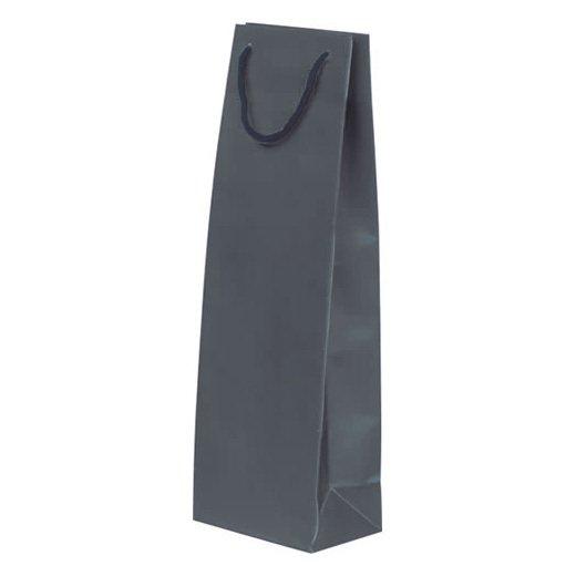 ペーパーボトルバッグ【ブルー】10枚セット YW008BLx10