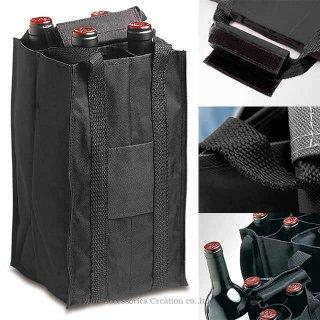 ワイン トートバッグ ブラウン1本用 ZJ882BR