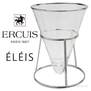 【メーカー取寄品】エルキューイ ガラスシャンパンバケット ELEIS ロングスタンド付き【正規品】 ERC3733SV