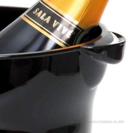 ワインクーラー ソリッドカラー クリアー  LC274CL