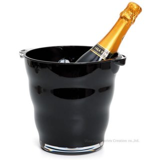 ワインクーラー ソリッドカラー ブラック LC274BK
