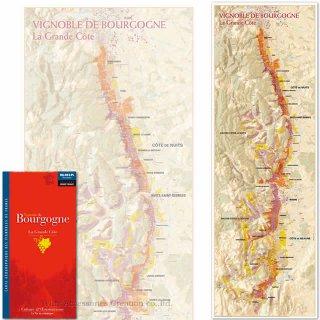 フランス製ワインマップ[フランス主な葡萄分布図] UV102MP