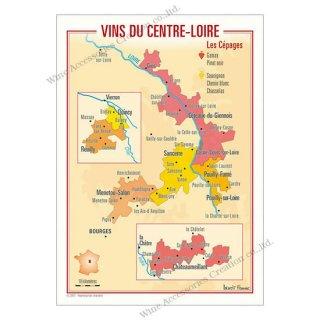 フランス製ワイン ポストカード[サントル・ロワール]10枚セット  UV209PC