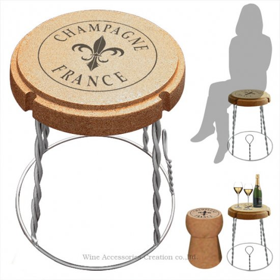 ジャンボ シャンパンチェア&テーブル ZC003CK