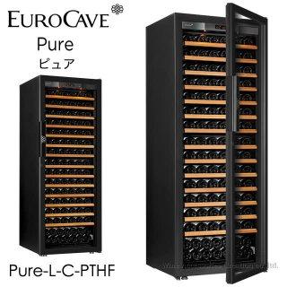ユーロカーブ Pure ピュア CS棚仕様 182本用 フルガラス扉 Pure-L-C-PTHF