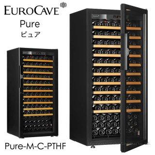ユーロカーブ Pure ピュア CS棚仕様 141本用 フルガラス扉 Pure-M-C-PTHF
