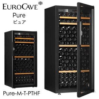 ユーロカーブ Pure ピュア 貯蔵棚+CS棚仕様 170本用 フルガラス扉 Pure-M-T-PTHF
