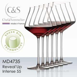 シェフ&ソムリエ リヴィールアップ インテンス55 ブルゴーニュ 6脚セット【正規品】 MD4735x6