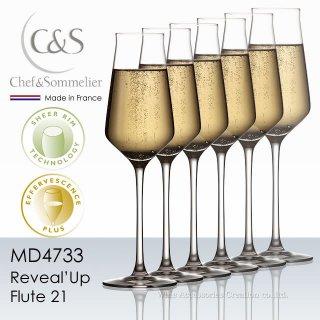 シェフ&ソムリエ リヴィールアップ フルート21 シャンパーニュ 6脚セット【正規品】 MD4733x6