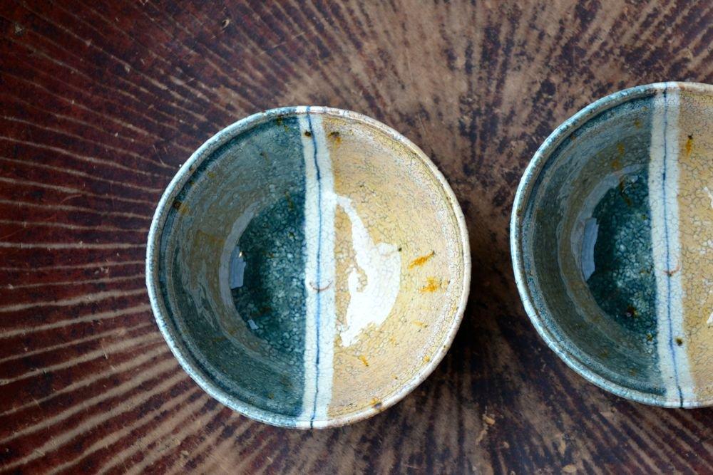 杉本太郎 煮物鉢(掛け分け)
