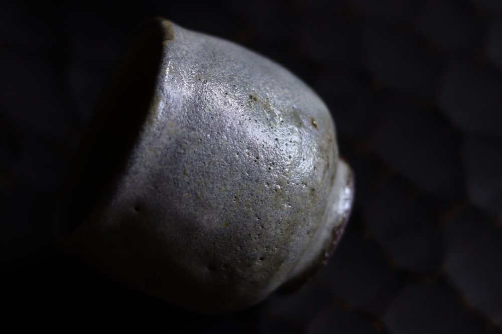 工藤和彦 渚滑釉  湯のみ