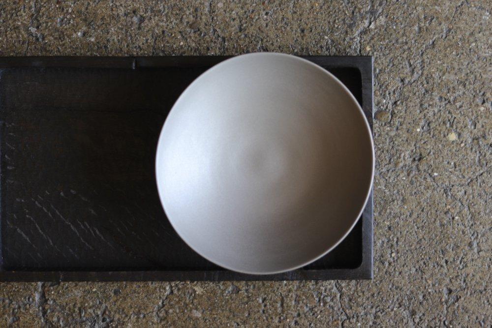 山田晶 プラチナ彩 変形浅鉢