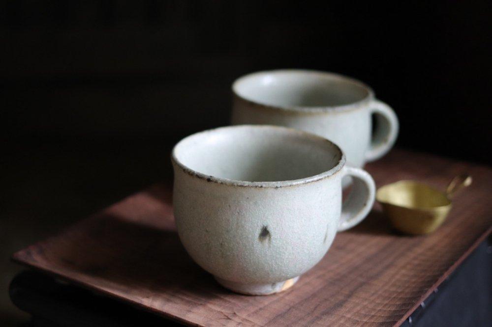 小林徹也 マグカップ (粉引)