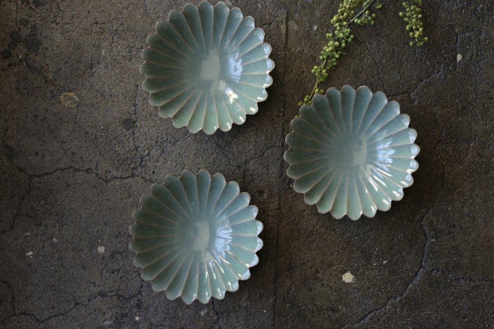 谷村崇 青磁菊鉢