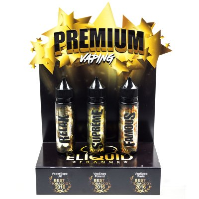 <img class='new_mark_img1' src='//img.shop-pro.jp/img/new/icons11.gif' style='border:none;display:inline;margin:0px;padding:0px;width:auto;' />ELIQUID FRANCE 「PREMIUM VAPING」