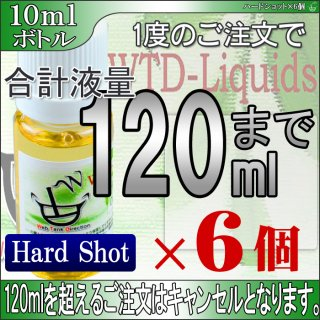 ×6pcs HardShot / 10ml