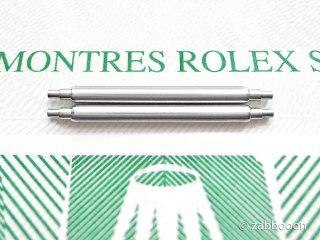 ロレックス純正19mm バネ棒 SWISS 正規品 デイト系 2本1セット デイトナ系 デイト系 ヴィンテージケース専用 未使用の保管品 未使用の保管品