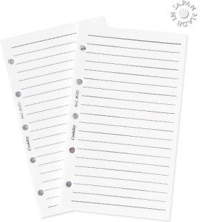 Cookday システム手帳 リフィル ケイ線ホワイト/ミニ5サイズ