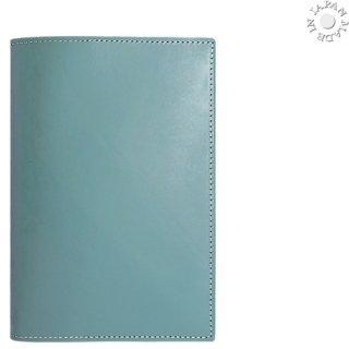 ブッテーロ・文庫カバー:ターコイズ色