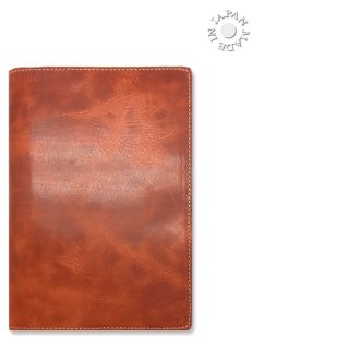 ブックカバー文庫サイズ/ナチュラルキップ本革