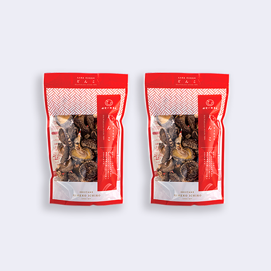 山の幸 どんこ2袋セット(100g×2)
