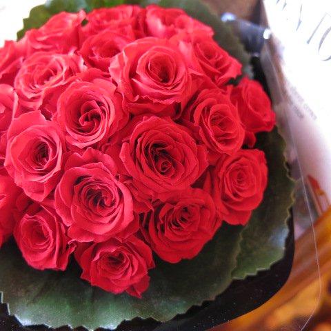 プリザーブドフラワー 花束 バラいっぱいの プリザーブドフラワー ミニブーケ風花束