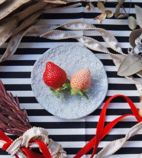ちくごへいやのいちご エコフォーム特別栽培 淡雪(白いちご)2パック+あまおう2パックセット ※クール配送