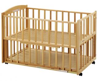 ツーオープンベッド b-side(ビーサイド) L型 ナチュラル