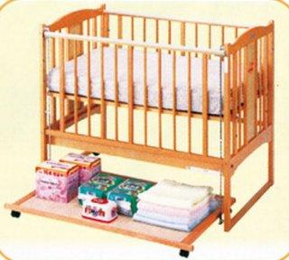 立ちベッド用 収納プレート L型ベッド用