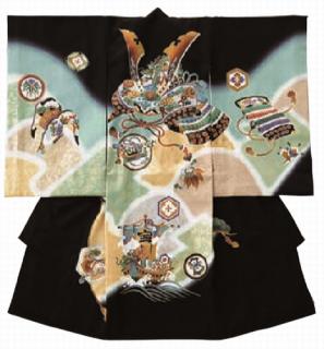 男児衣装 特選6 DM48 かぶとと宝船