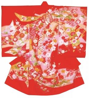 女児衣装 特選5 JM07 花と熨斗