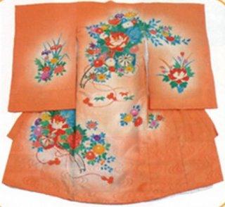 女児衣装 特選8 JM52 牡丹