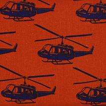 echino ni-co ヘリコプター|オレンジ