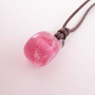 琉球ガラスアロマチョーカー ピンク