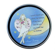 珪藻土素材 天使のアロマプレート「月の天使」