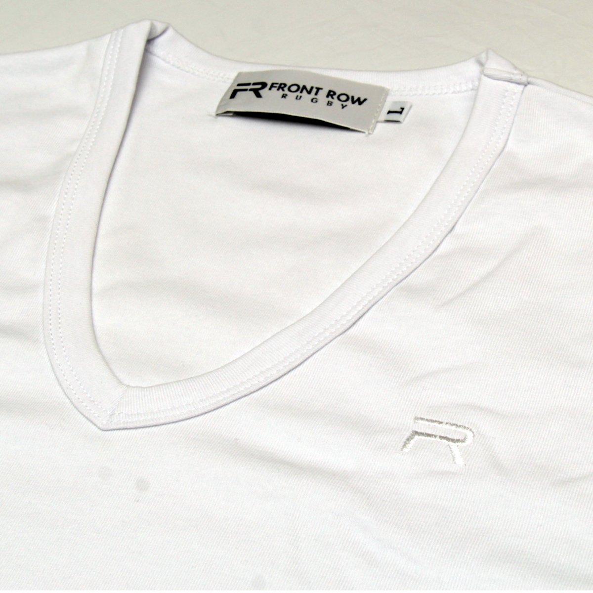 ボディフィットTシャツVネック